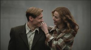 David Kross and Marya Fevor as Bert and Margaret Tratumann. (Courtesy of Memnesha Films)