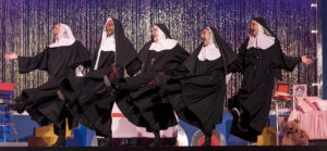 """The cast of """"Nunsense"""" finishing its holy funny run at Rivertown Theaters this weekend. (Photo courtesy Rivertown Theaters for the Performing Arts)"""