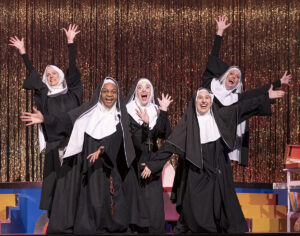 """""""Nunsense"""" cast members. (Photo courtesy Rivertown Theaters for the Performing Arts)"""
