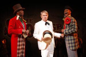 "Nominated for 12 Tony Awards, ""The Scottsboro Boys"" starred Cullum as The Interlocutor. (Photo courtesy Vineyard Theatre)."
