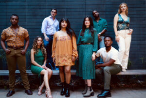 """The cast of """"Songs for a New World."""" (Photo by Summer Lyric Theatre at Tulane.)"""