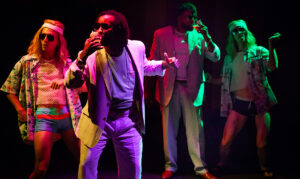 """Partially set in a South Beach club, """"The Comedy of Errors"""" is the lone entry in this year's New Orleans Shakespeare Festival."""
