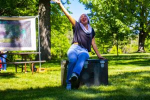 Kaylene Howard. (Photo by Summit Players Theatre/A.J. Magoon)