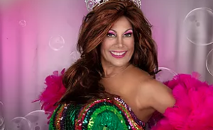 """Lisa Kieffer played the leading role of Jill Conner Browne in """"Sweet Potato Queens: The Musical."""""""