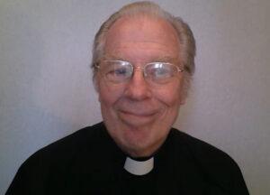 Michael McKean as the monsignor. (Screenshot)