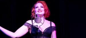 """Samantha V. Rohr stars as Sally Bowles in Cutting Edge Theater's production of """"Cabaret"""" running now through October 9."""