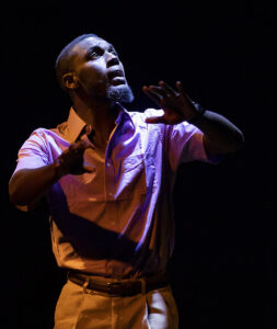 """Abraham Adams as seen in """"The Exonerated."""" (Photo by Steve Wagner)"""