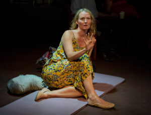 """Amy Fritche in """"The Exonerated."""" (Photo courtesy Beck Center for the Arts"""