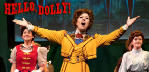 """Ashley Smetherman Lemmler plays the title character of Dolly Levi in """"Hello, Dolly!"""" finishing its run for Rivertown Theaters."""