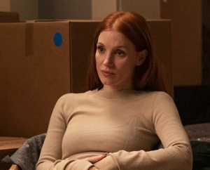 Jessica Chastain (©2021 HBO)