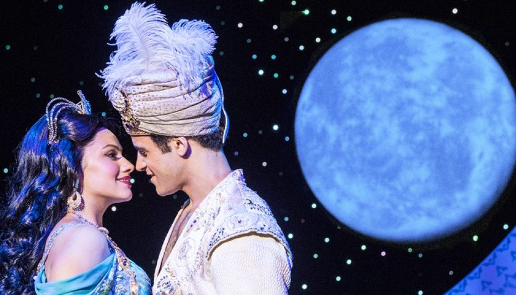 'Aladdin' takes audience on magic carpet ride to 'A Whole New World'