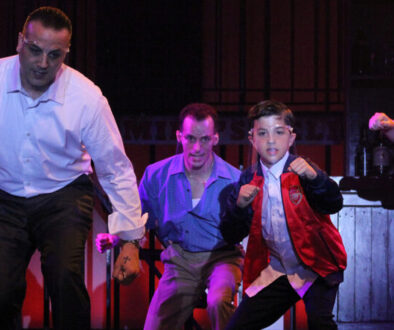 Daniel Rosenbaum as Sonny and Ashton Heathcoat as Young CalogeroFB